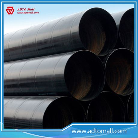 Picture of ADTO Manufacture Power SSAW Black Round Steel Pipe