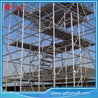 Picture of SGS Testing Galvanized & HDG Steel Q235 & Q345 Ringlock System Scaffold
