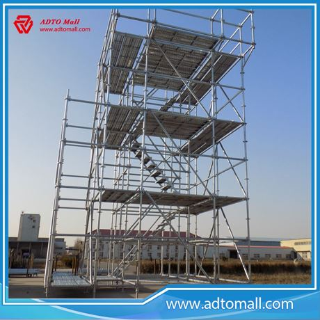 Easy Install Hdg Amp Painted Modular Scaffolding System