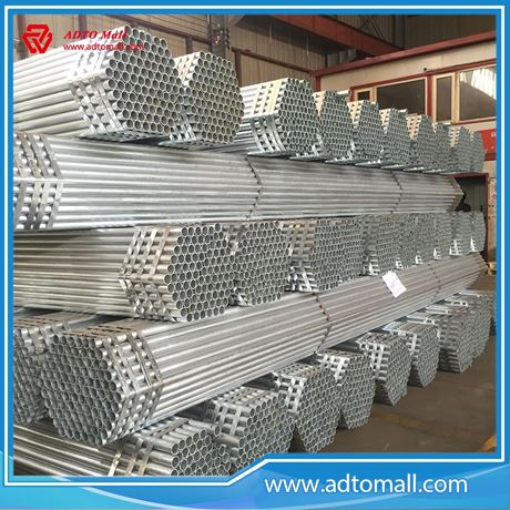 """Picture of BS1387 Gr.A 1 1/2""""x2.9mmx6m Hot Dipped Galvanized Pipe"""