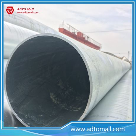 """Picture of BS1387 Gr.B 8""""x5.4mmx6m Hot Dipped Galvanized Pipe"""