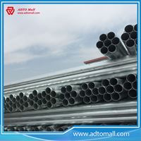 "Picture of BS1387 Gr.A 2 1/2""x3.2mmx6m Hot Dipped Galvanized Pipe"