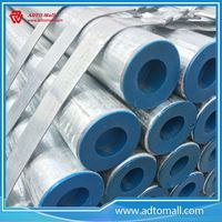Picture of Q235 Steel 168.3mmx2.75mmx6m Galvanized Steel Tube