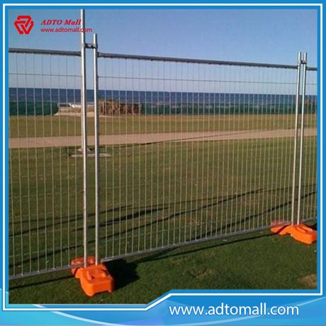 Picture of New Zealand Temporary Fence High Quality Temporary Fence Barricade/Hot Dipped Galvanized Marine Grade