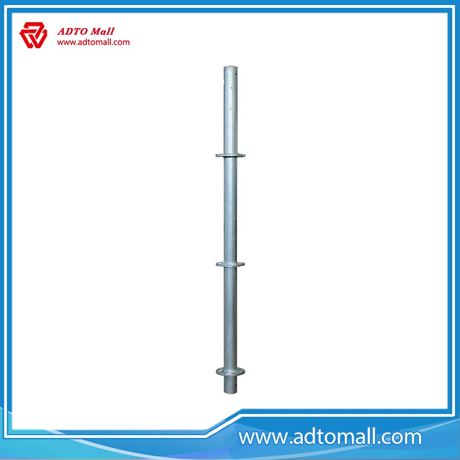 Picture of  Q345 Hot Dipped Galvanized Ringlock Standard With Spigot 48.3*3.25*1500mm