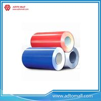 Picture of Aluminum Coil Different Colors Coated for Industrial, Decorative Applications