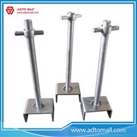 Picture of ADTO Scaffoling Q235 Steel Silver Solid Adjustable U Head Jack