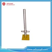 Picture of M38x600 Zinc Plated Adjustable Base Jack