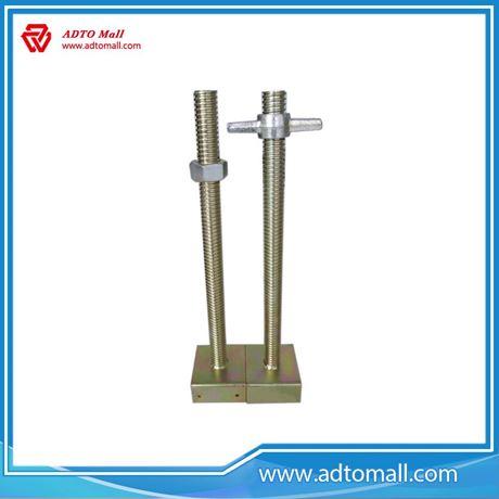 Picture of Zinc Plated Steel Adjustable Hollow U Head Jack