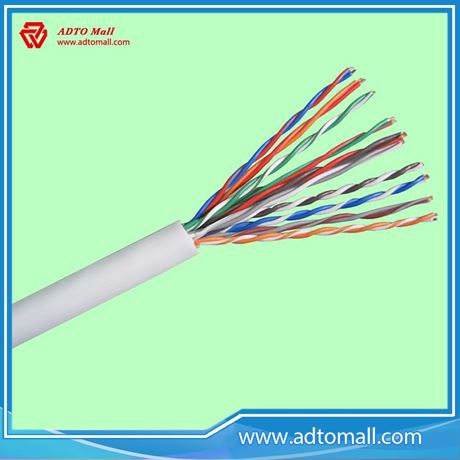 Indoor Unshielded Twisted Pair 24AWG thin network cable utp cat6 ...