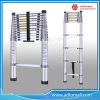 Picture of Manufacture wholesale Quick folding aluminium step ladder telescopic