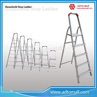 Picture of aluminium household folding step ladder for sale