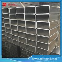 Picture of 40mm*20mm Pre galvanized Rectangular Pipe