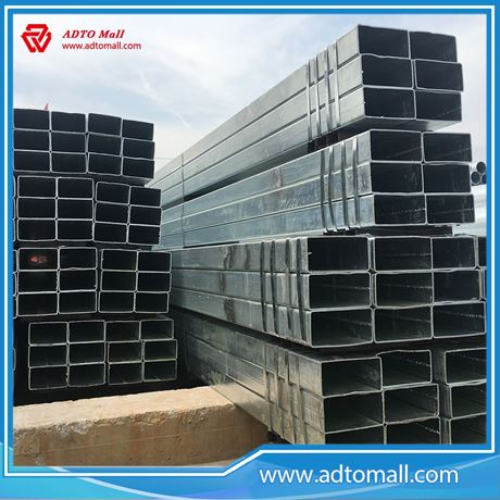 Picture of Promotion Hot Sale Pre-galvanized Rectangular Tubing