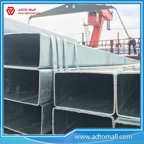 Picture of Large Diameter Size Pre-galvanized Rectangular Tubing