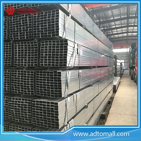 Picture of Pre-galvanized Rectangular Pipe China Supplier
