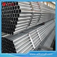 Picture of 42.2mmx1.2mmx6m Round Steel Pipe in Pre-Galvanized
