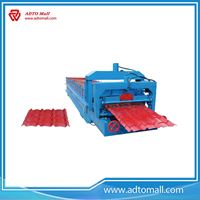 Picture of Glazed Tile Roll Forming Machine