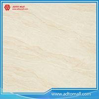 Picture of Super glossy polycrstalline polished porcelain floor tile