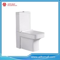 Picture of Popular white dormitory ceramic one piece cheap water closet quality control