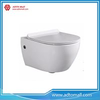 Picture of Europe economic wall mounted toilet ceramic water closet toilet bowl CE certificate