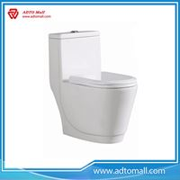 Picture of Modern One Piece Ceramic Water Closet have very strict quality control