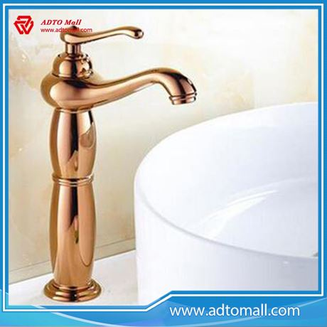 Picture of Modern Bathroom Faucet Zinc Chrome Basin Faucet Water Tap with high quality