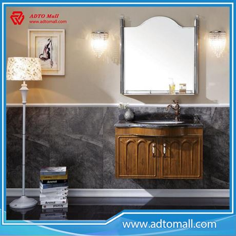 Picture Of New Design Hanging Waterproof Bathroom Cabinet Wash Basin Mirror