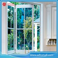 Picture of Double glazed glass with standard thickness aluminum windows