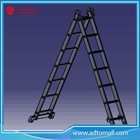 Picture of wholesale manufacture multi usage extension ladder with EN131 certificate