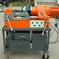 Construction & Real Estate Use Die Head Threading Machine for Rebar Coupler