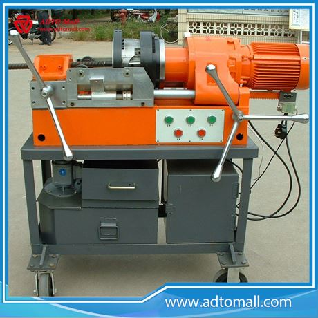 Picture of Construction & Real Estate Use Die Head Threading Machine for Rebar Coupler