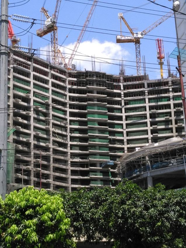 Aluminum Formwork System Project In Philippines, Shangri-La Hotel