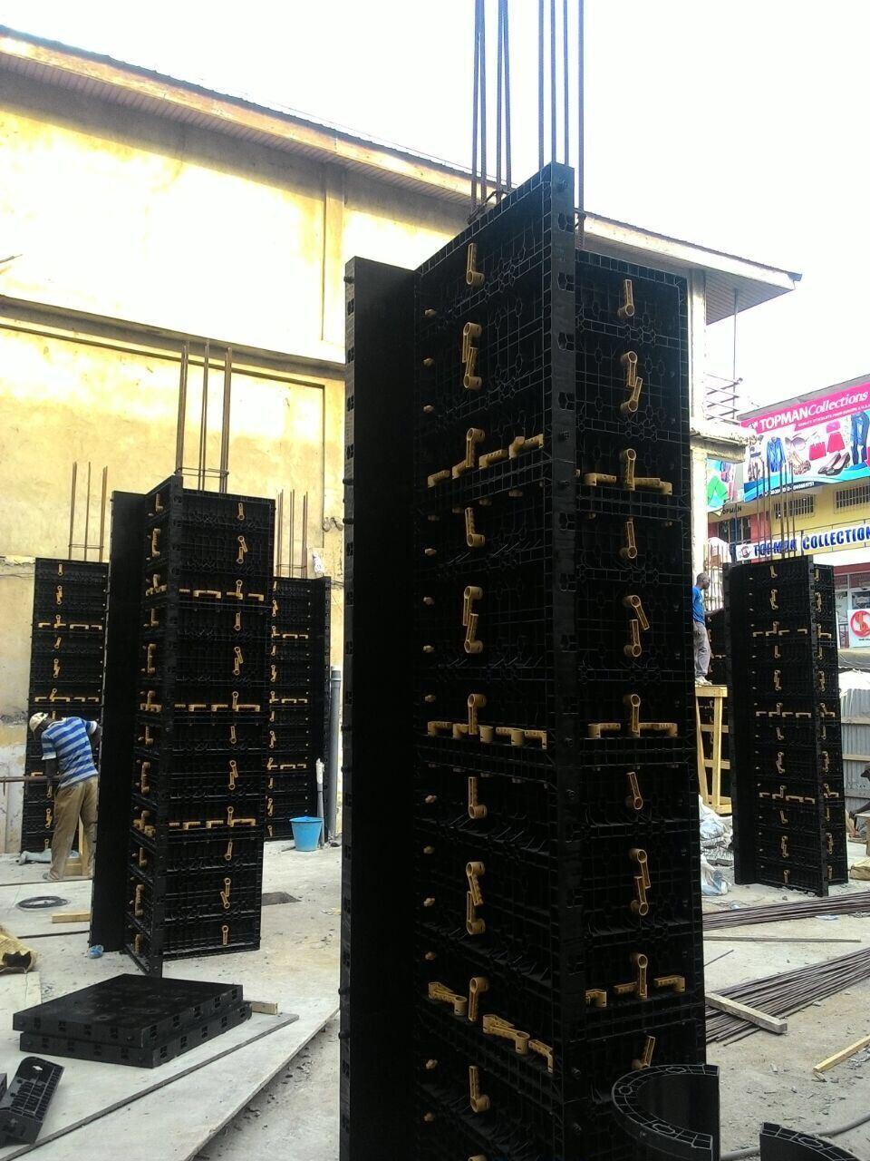 ADTO Plastic Formwork--Residence project in Lagos. Nigeria