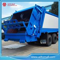 Picture of Waste management garbage compactor truck
