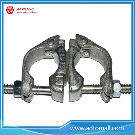 Picture of high quality & best price Drop Forged Swivel scaffold couplers for wholesale