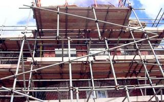 For scaffolding safety construction, you can't do these things
