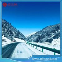 Picture of Painted Corrugated Highway Steel Guardrail