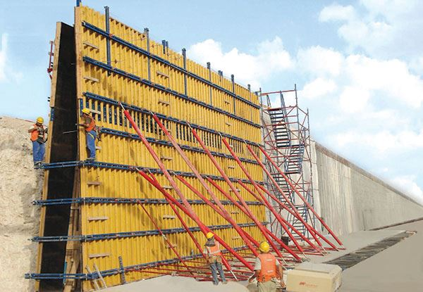 Different Types of Concrete Formwork System Introduction