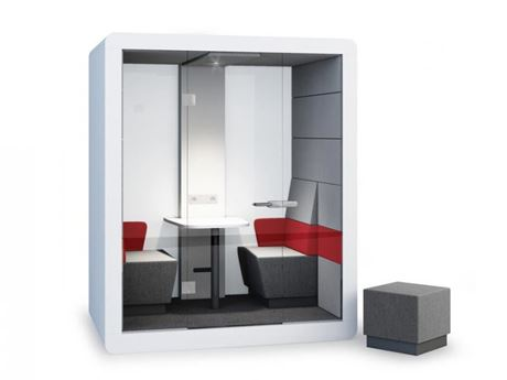 Picture of Professional Customized Metal Privacy Booth Office