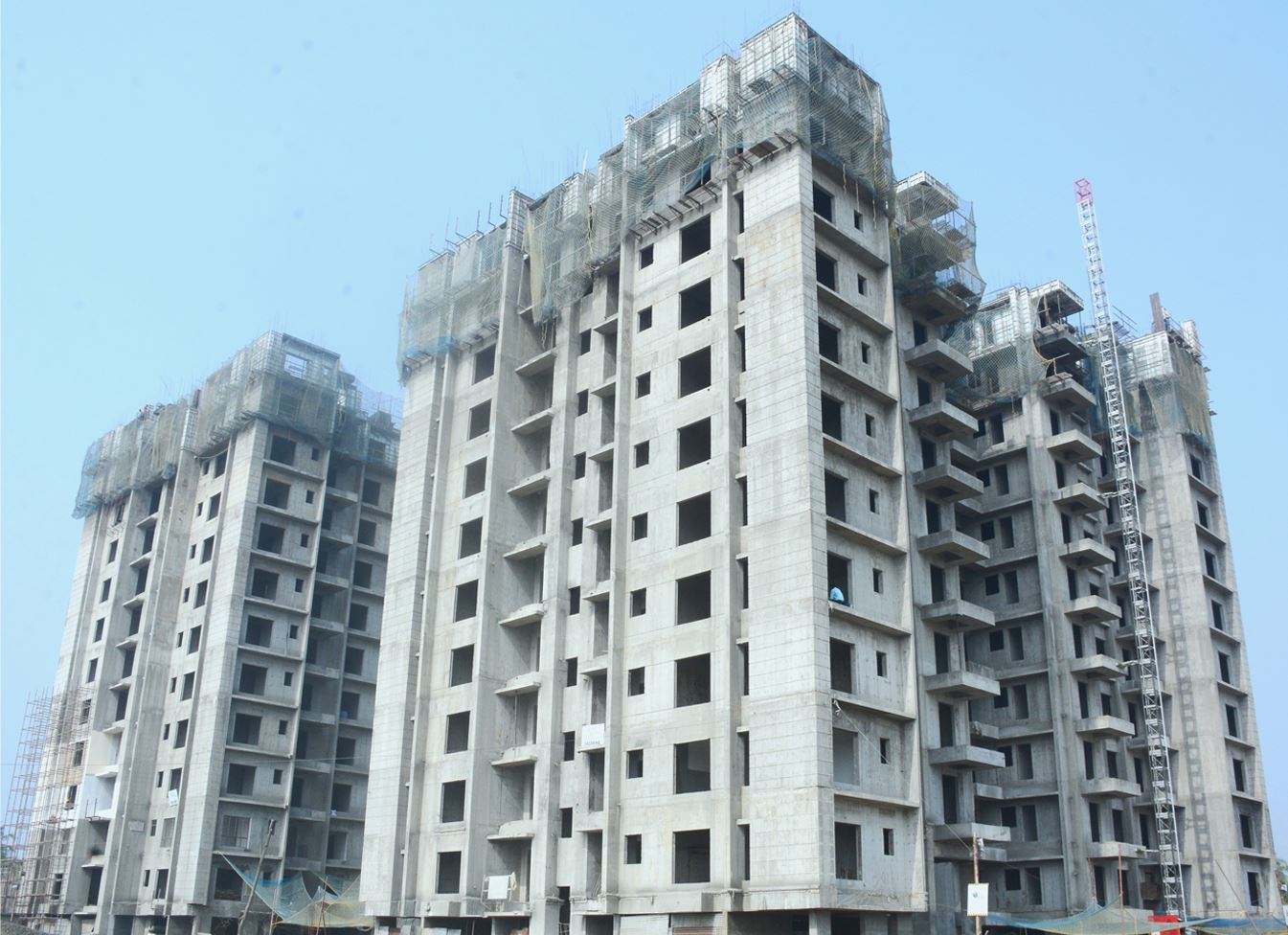 Aluminum Formwork System Project: High-rise residential for CSCEC - ADTO Group