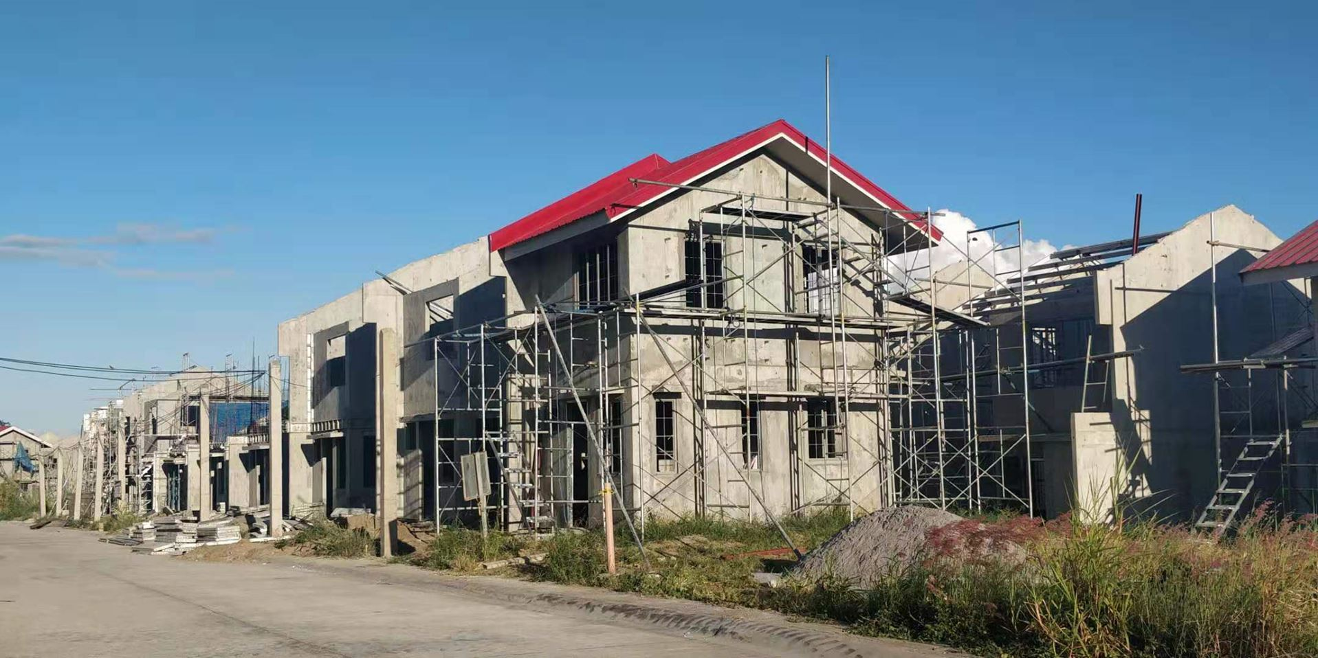 Aluminum Formwork System Project: Repeat villas in Philippine - ADTO Group