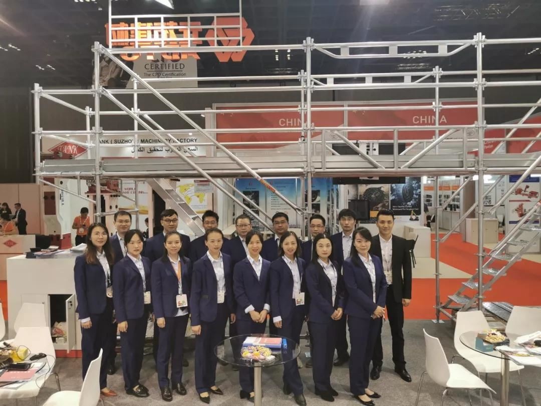 Chinese Red! ADTO GROUP In The BIG 5 Dubai