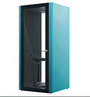 Picture of Customized Privacy Acoustic Hush Phone Booth