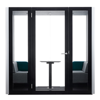 Picture of 1000*1000*2100mm Acoustic Telephone Booth with Sound Absorbing Feature