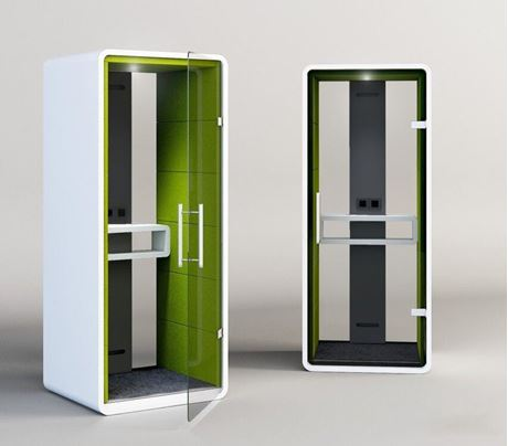 Picture of Customized Privacy Acoustic  Phone Booth