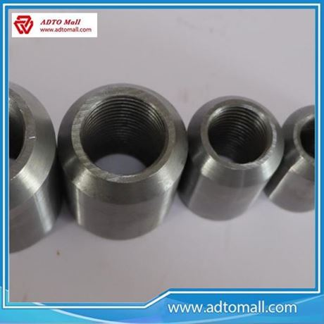 Picture of Weldalbe rebar coupler with wholesale price