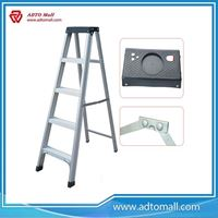 Picture of Aluminum Single side Telescopic Ladder