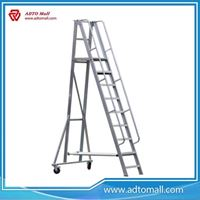 Picture of Aluminum warehouse ladder